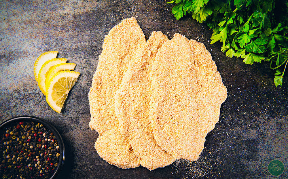 Organic Crumbed Chicken Breast Schnitzel