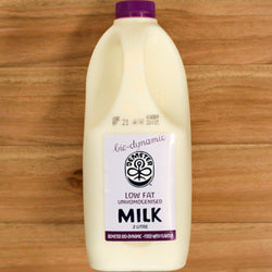 Biodynamic Milk Low Fat 2 Litre