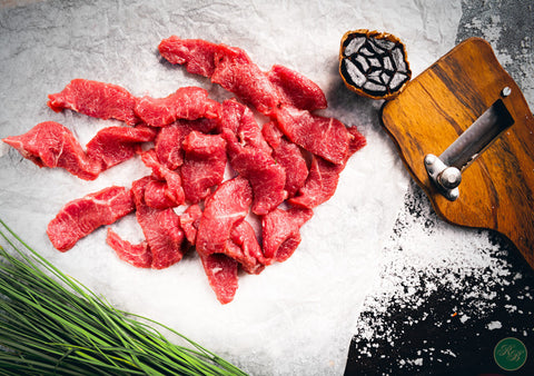 Tender Lamb Strips per 500g