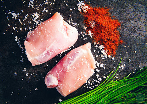 Free Range Chicken Chops (Skinless) per 500g