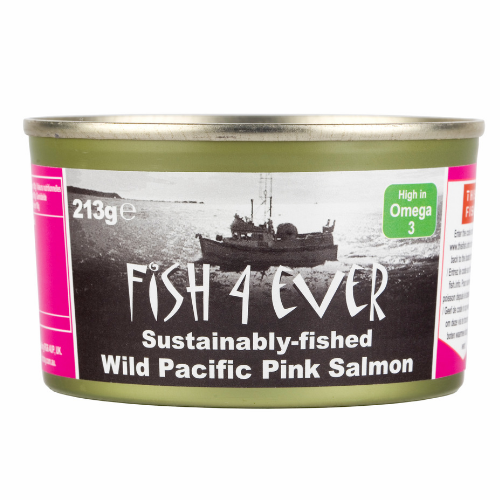 Fish 4 Ever Wild Pacific Pink Salmon 213g