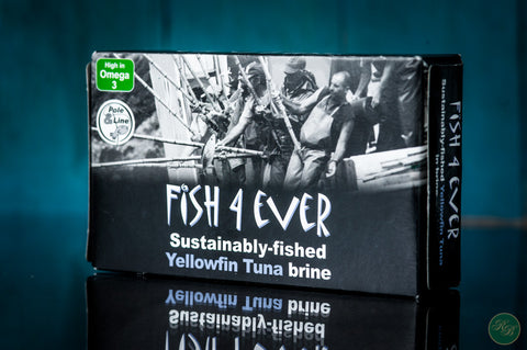 Fish 4 Ever Yellow Fin Tuna in Brine