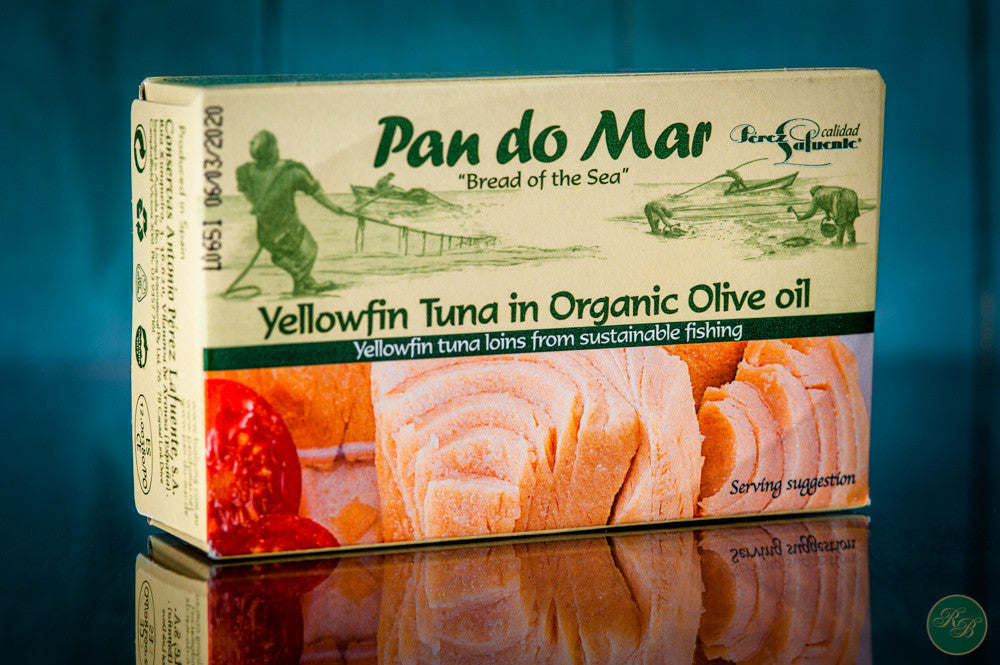 Pan Do Mar Yellowfin Tuna in Organic Olive Oil