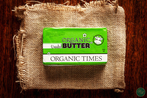 Butter Organic Unsalted (from Grassfed Cows)