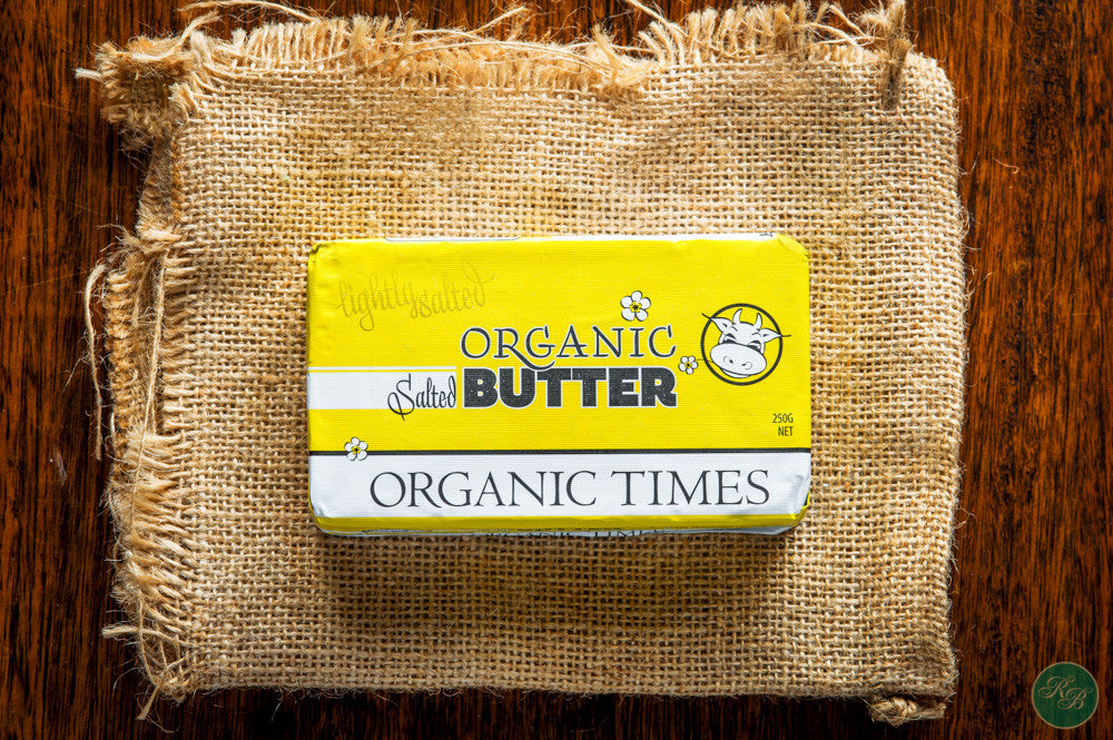 Organic Salted Butter (from Grassfed Cows)