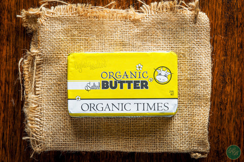 Butter Organic Salted (from Grassfed Cows)