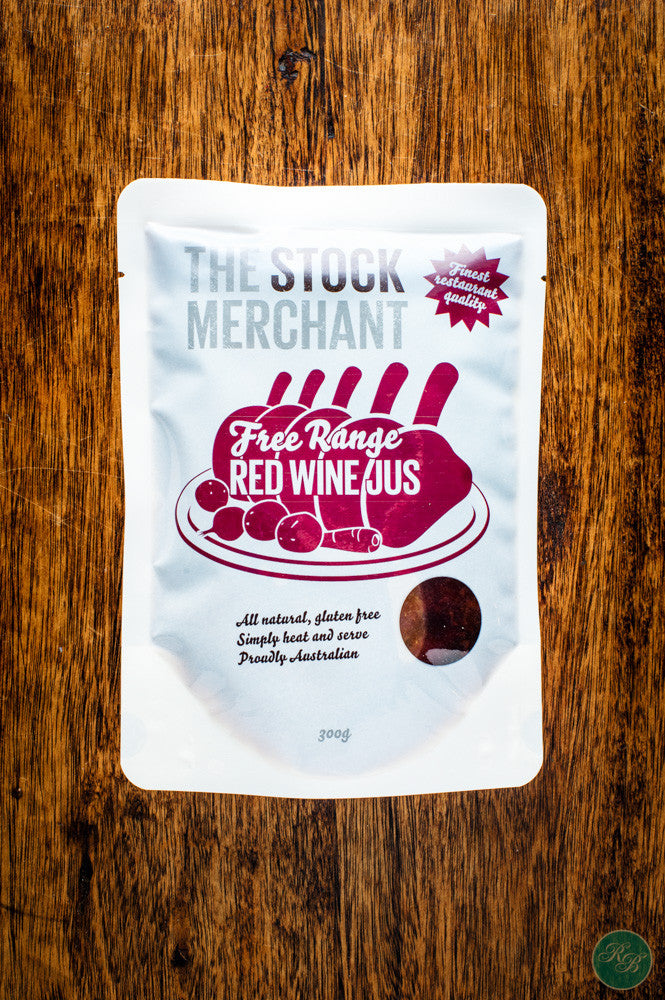 The Stock Merchant Free Range Red Wine Jus