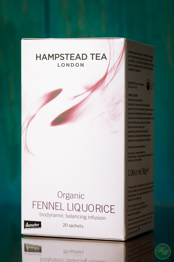 Hampstead Tea Organic Fennel Liquorice