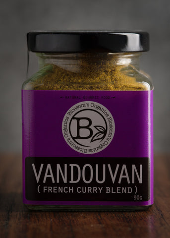 Blossom Organics Vandouvan (French Curry Blend) 90g