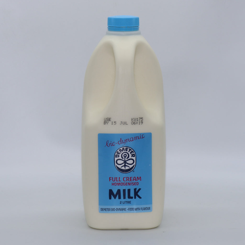 Biodynamic Milk Homogenised 2 Litre