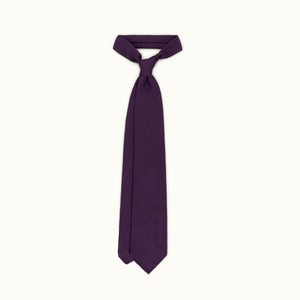 Purple Grenadine Grossa Silk Tie