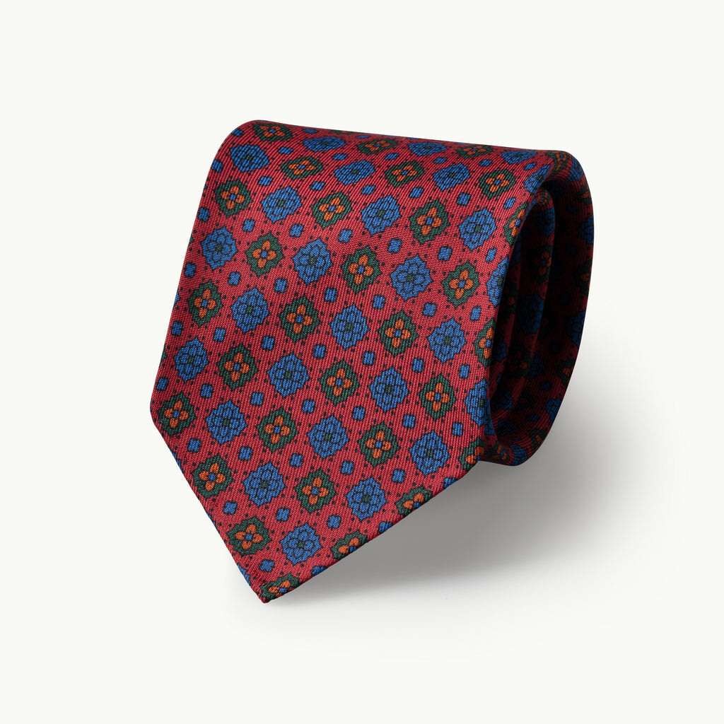 Dusty Red Madder Tie