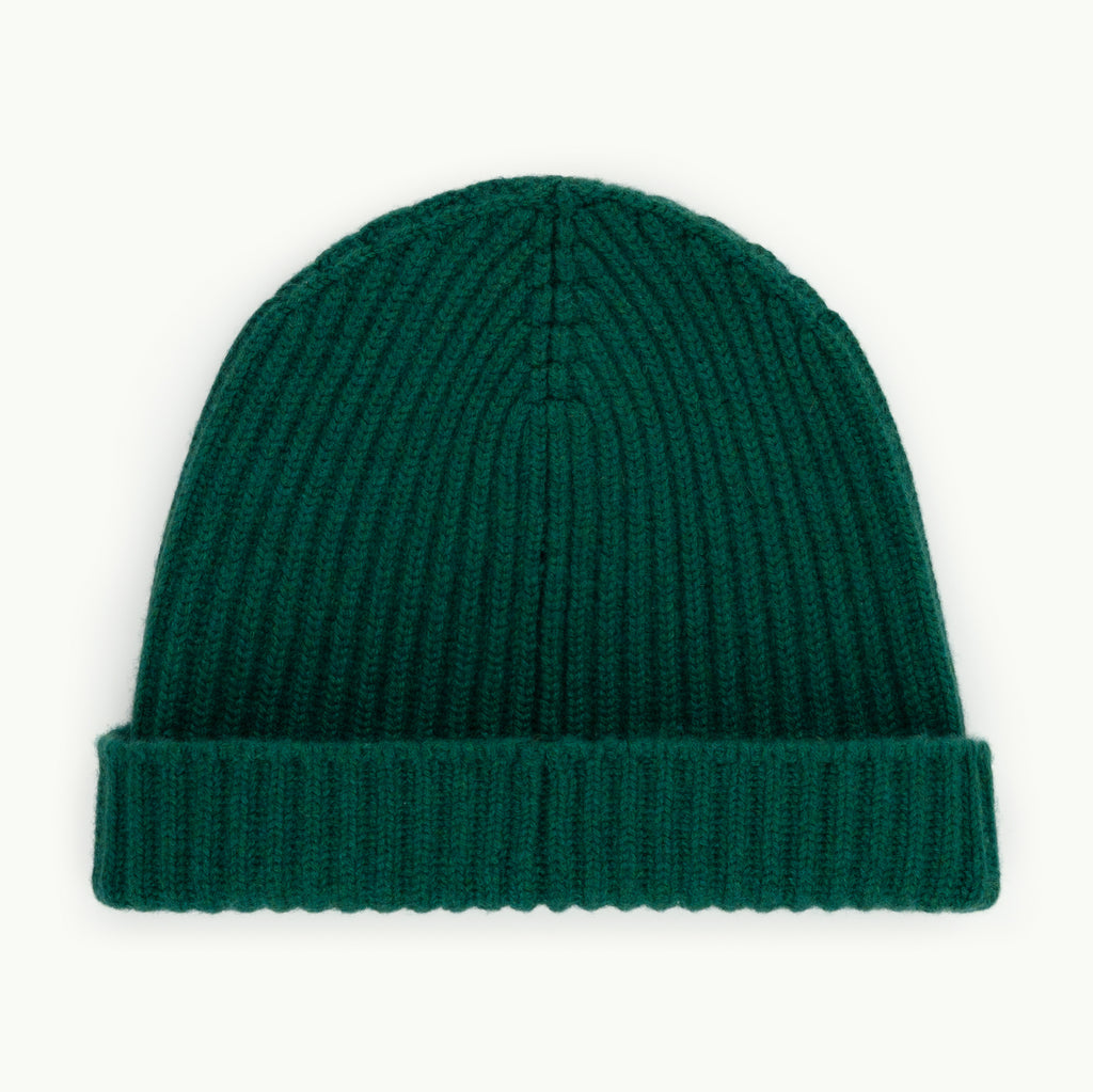 Kelly Green Cashmere Hat