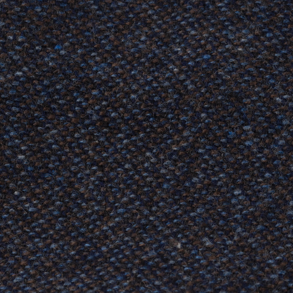 Navy & Brown Donegal Cashmere Tie