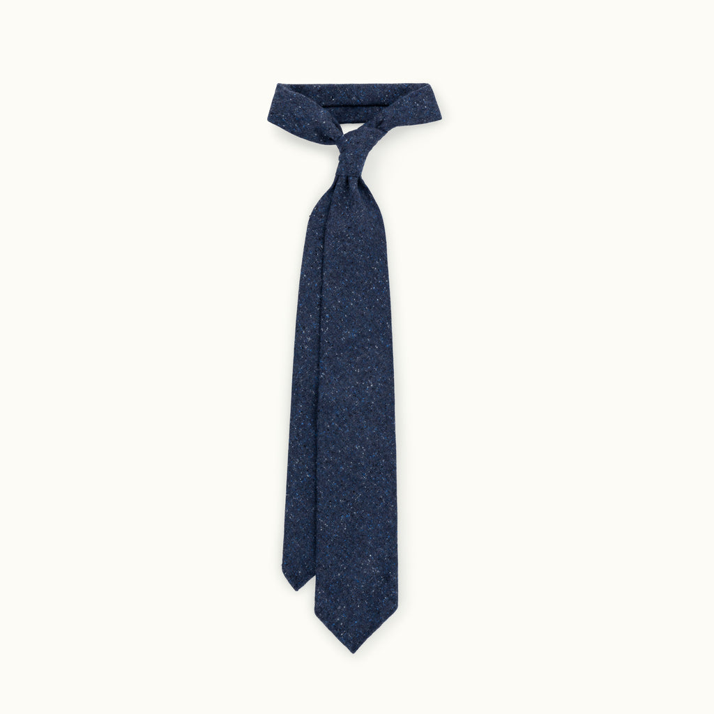 Blue Donegal Cashmere Tie