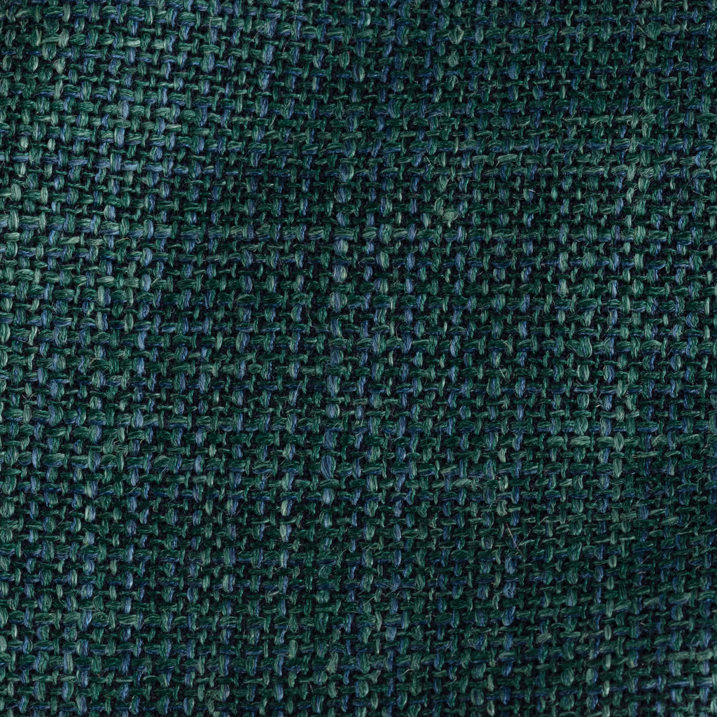 Green Melange Wool, Linen & Silk Tie
