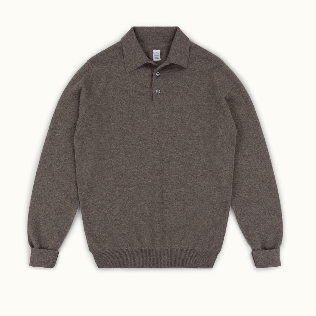 Elk Cashmere Knitted Polo