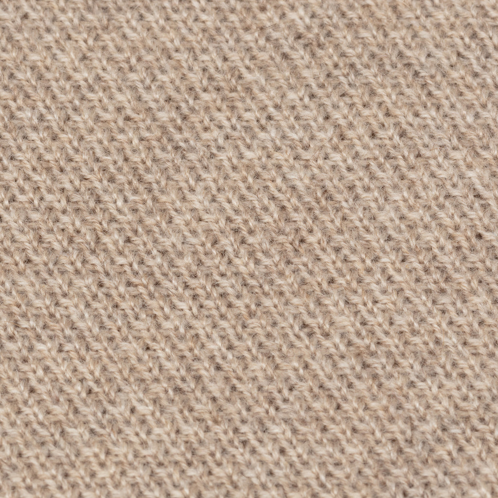 Oatmeal Cashmere Knit Tie