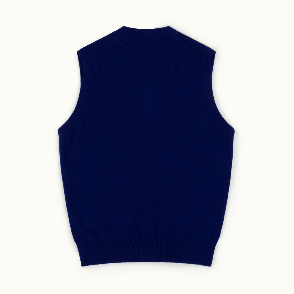 Violet Geelong Sleeveless Cardigan