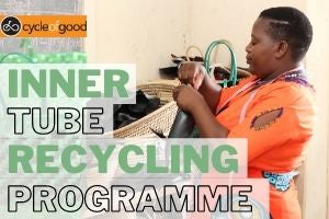 Recycle Your Inner Tubes - VeloChampion Teams Up with Cycle of Good Charity