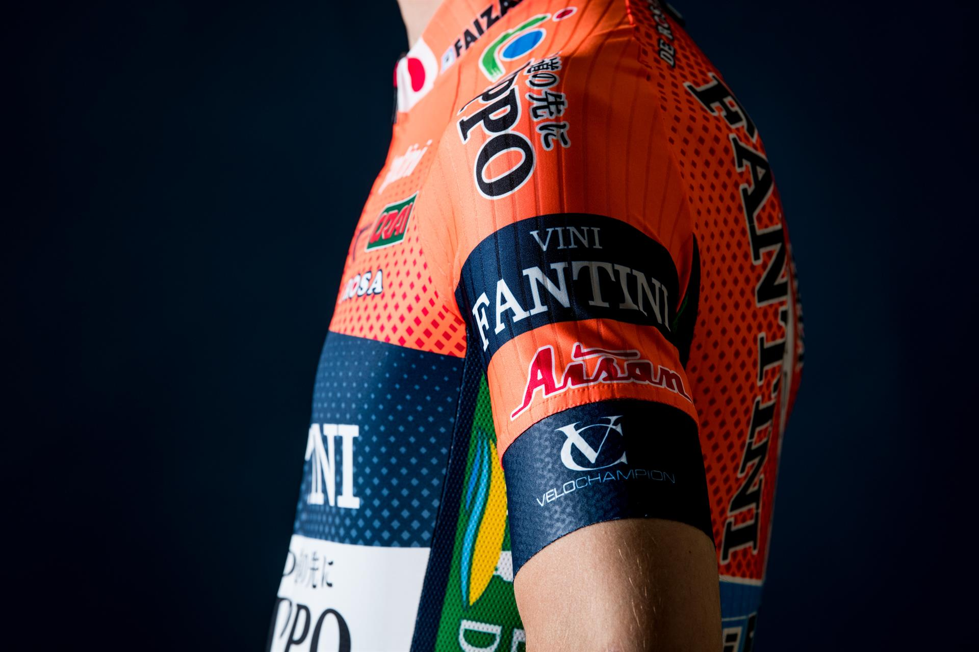 VELOCHAMPION Elevates 2019 Sponsorship for Team NIPPO Vini Fantini Faizane.