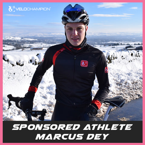 VELOCHAMPION Teams up with Local Lad and GB Triathlete Marcus Dey