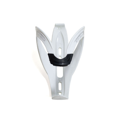 VeloChampion Evo Race Bike Water Bottle Cage - White for Road or MTB - Velochampion