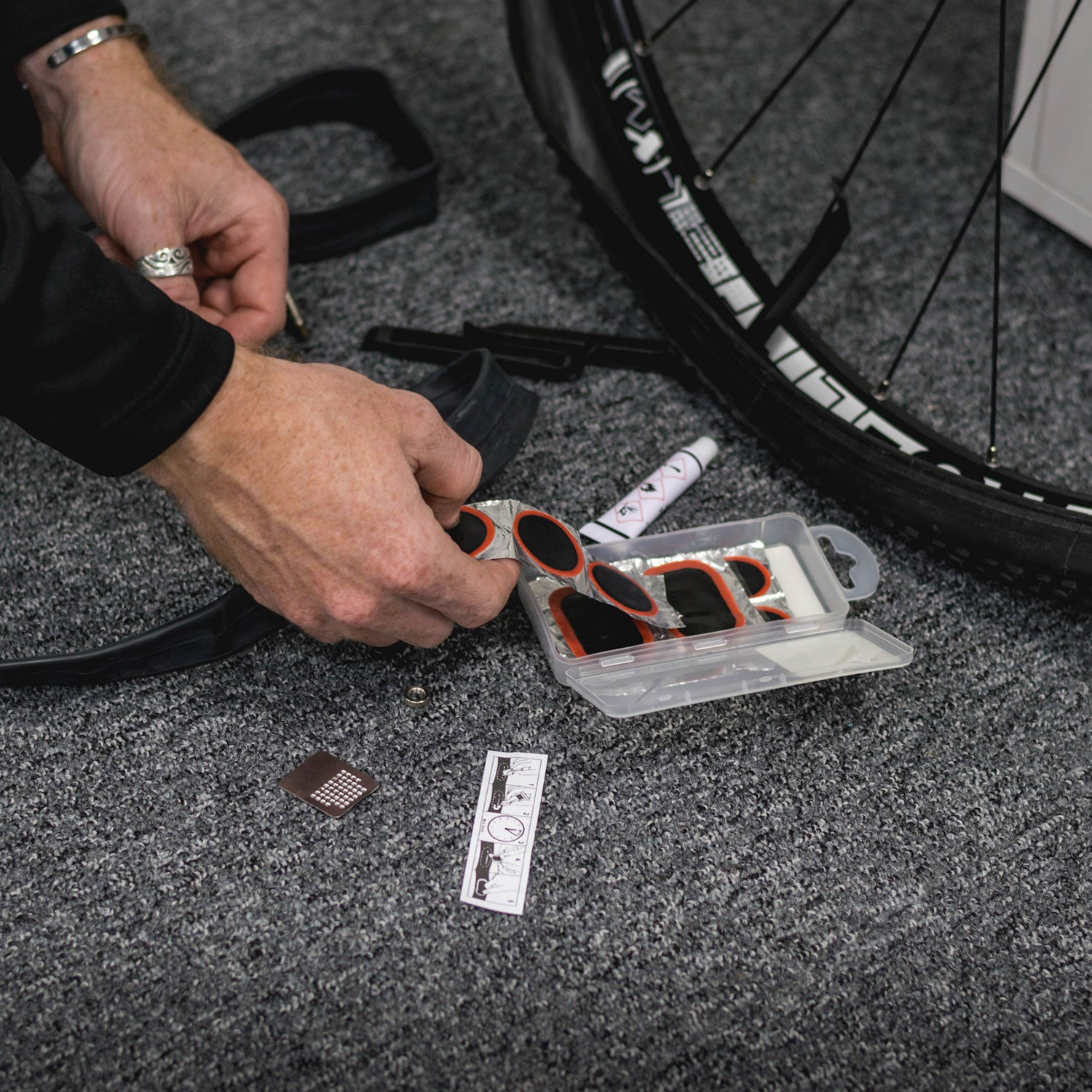 Velochampion Bike Puncture Repair Kit - Velochampion