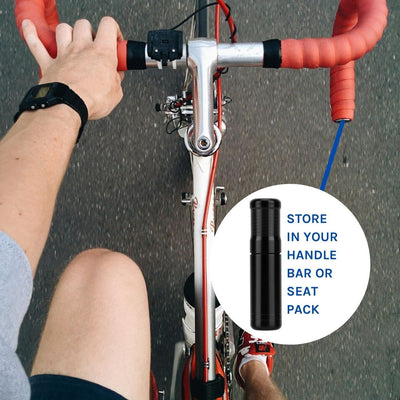 VeloChampion Tubeless Tyre Repair Kit Use In Your Handlebars and Seat pack