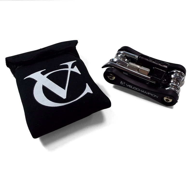 VeloChampion Bike 'Gooj 2' Multi Tool 16 Function with Chain Breaker / Pin Splitter / Cutter - Velochampion