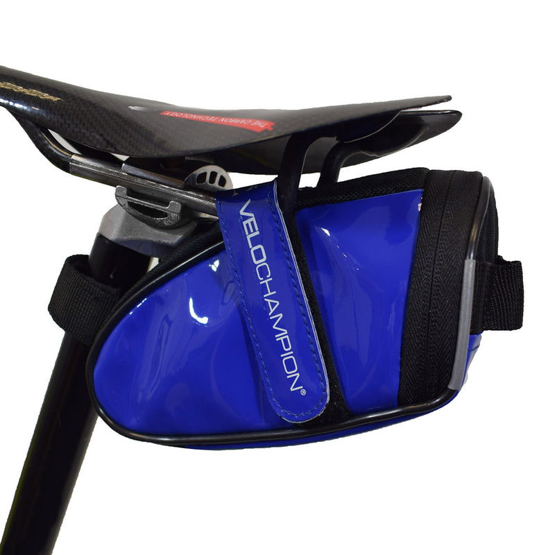 VC Slick Bike Seat Pack - Black, Blue, Red or White Saddle Bag