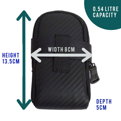 VeloChampion Sonic Bike Seat Pack - Black