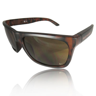 Milan brown fixed frame cycling and sports sunglasses | VeloChampion