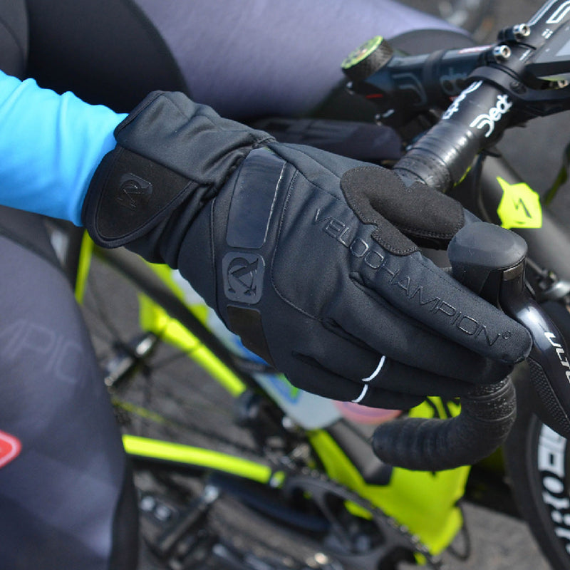 VC Comp Pro Winter Gloves - Fleece Lined, Water Resistant Ideal for Cold Winter Cycling