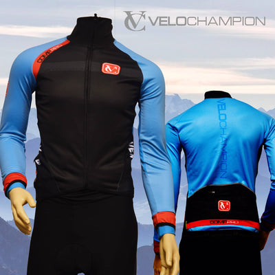 VC Comp Pro Calpe Fleece Lined Thermal Jacket - Ideal for Autumn/Winter Cycling