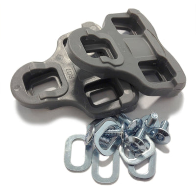 VeloChampion Look Keo Grip Pedal Cleats 9 Degree Float Grey - Velochampion