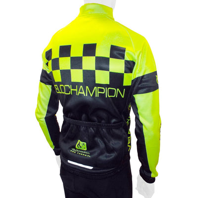 VELOCHAMPION Pro Thermo Tech Fleece Cycling Jacket - Velochampion