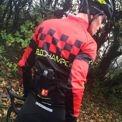 VELOCHAMPION Pro Thermo Tech Autumn/Winter Cycling Jacket