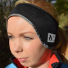 Thermo Tech Cycling Fleece Lined Ear Warmer Headband – Wind resistant, stretch fit head warmer