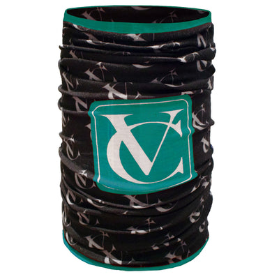 VeloChampion seamless snood neck warmer teal green