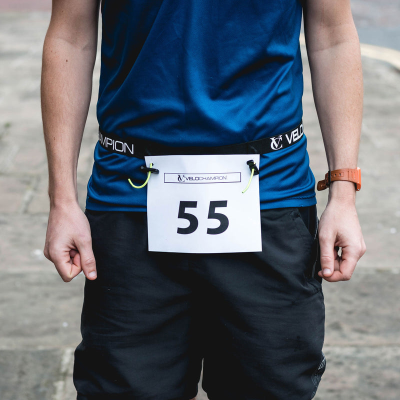 VeloChampion Triathlon/Running Race Number Belt - Velochampion