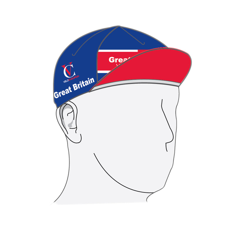 VeloChampion Great Britain Cycling Euro Cap