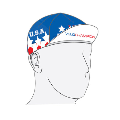 VeloChampion USA Cycling Euro Cap - Velochampion
