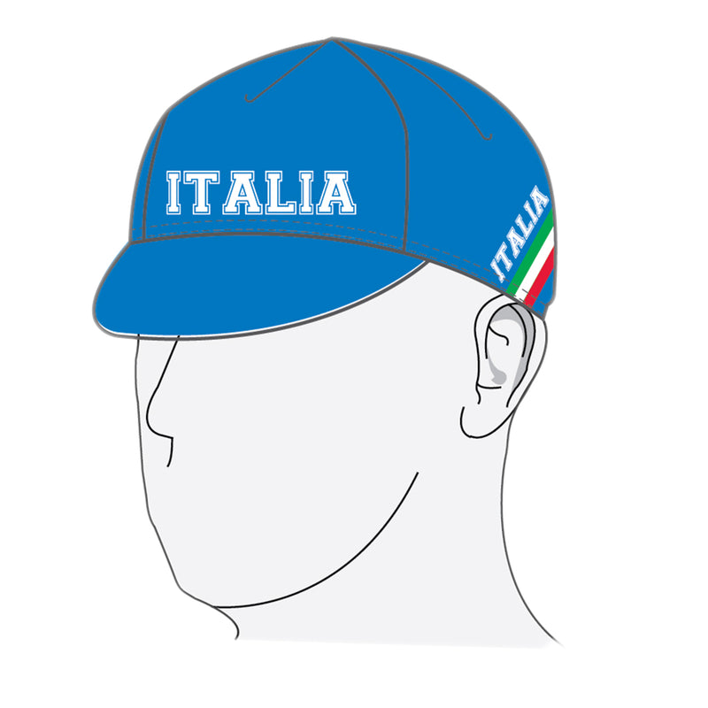 VeloChampion Italy Cycling Euro Cap - Velochampion