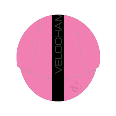 VeloChampion Cycling Tech Cap - Pink with Black Band - Velochampion
