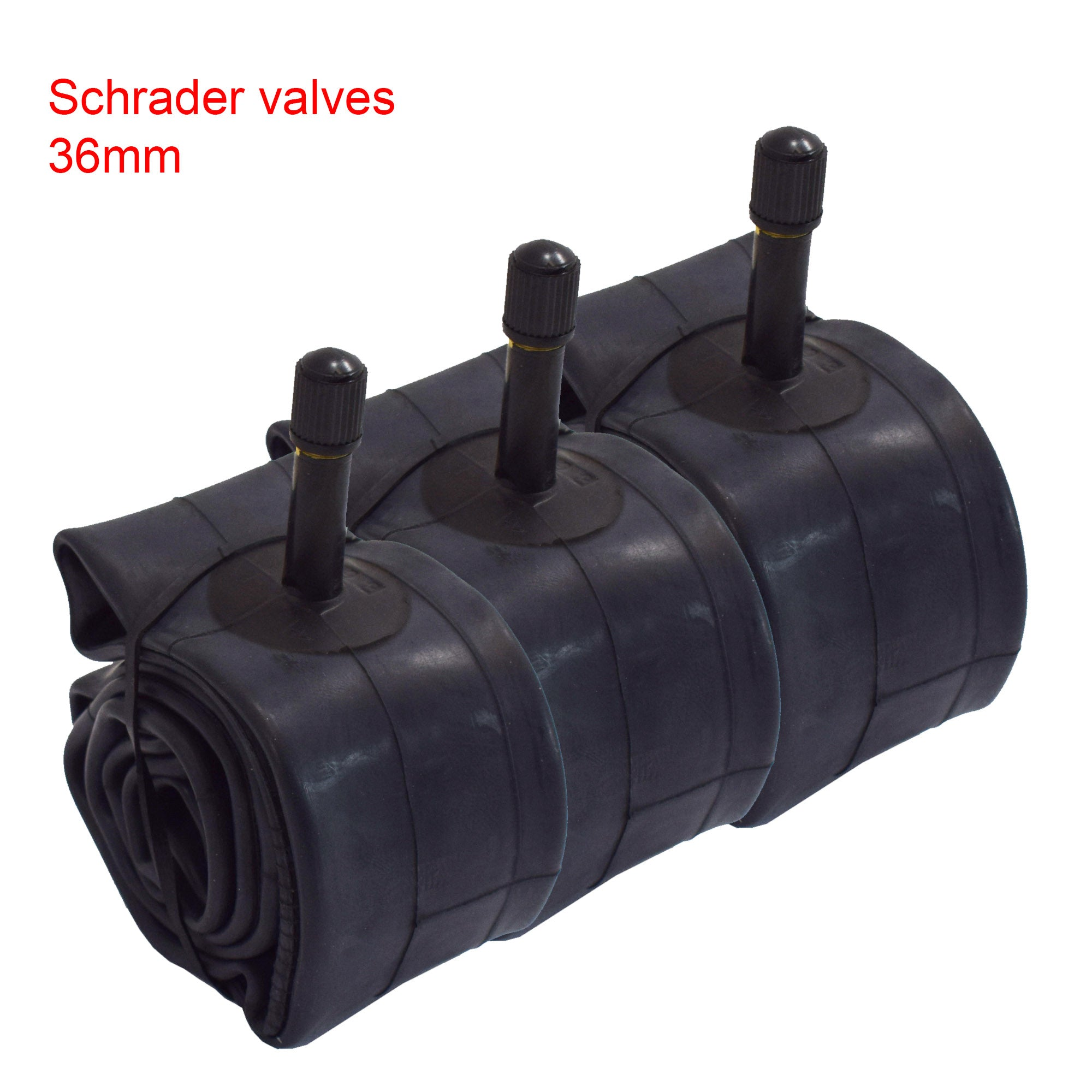 "14"" 16"" or 18"" Inner Tube with 36mm Schrader Valve - Velochampion"