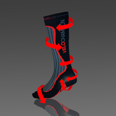 How VeloChampion Sports Compression Socks Work