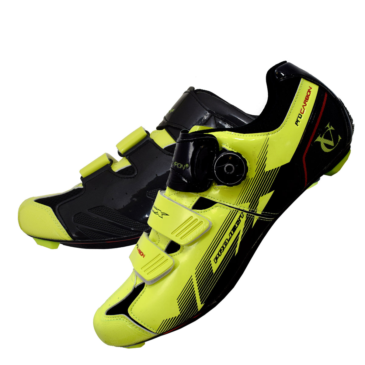 VCX Cycling Shoes (pair) with Carbon Fibre Soles - 2 colours available