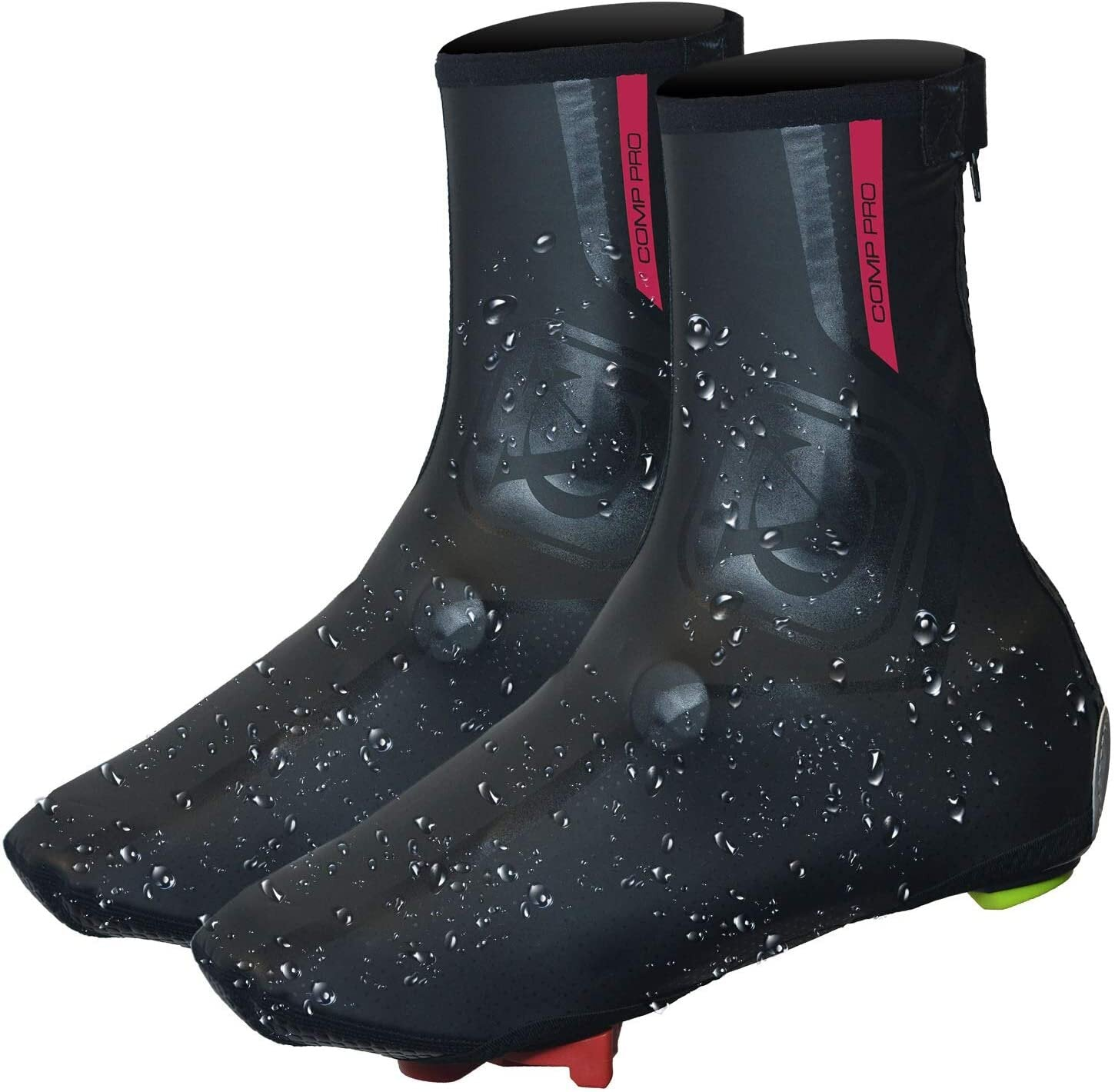 VC Maxgear Overshoes - Lightweight, Fleece Lined & Water Resistant. Ideal for Winter Cycling