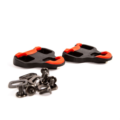VeloChampion 4.5 Degree Cleats compatible with 'Look Keo' system (pair)